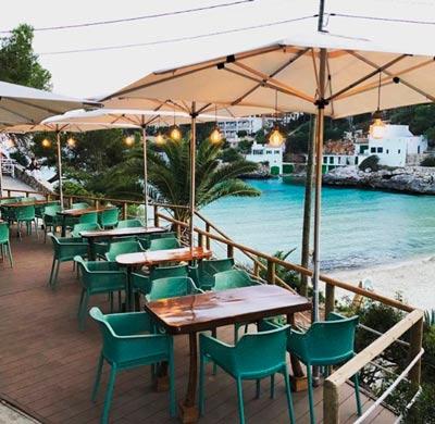 terraza restaurante mallorca playa